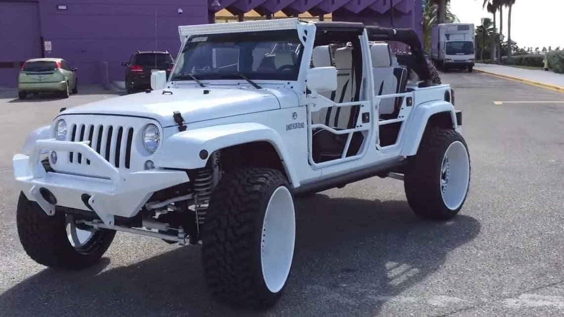 Jeep Wrangler от Underground AV
