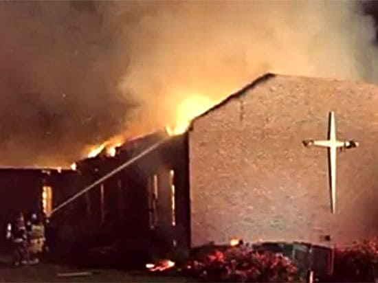 Поджог афроамериканской церкви