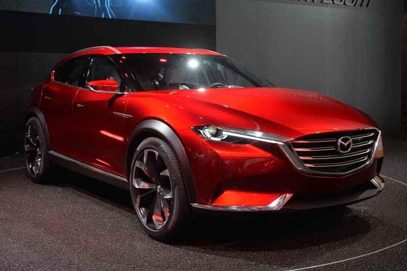 Концепт-кар Mazda Koeru