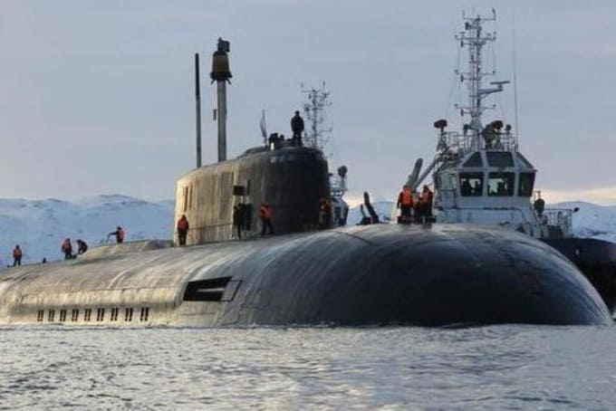 Атомная подлодка «Белгород»