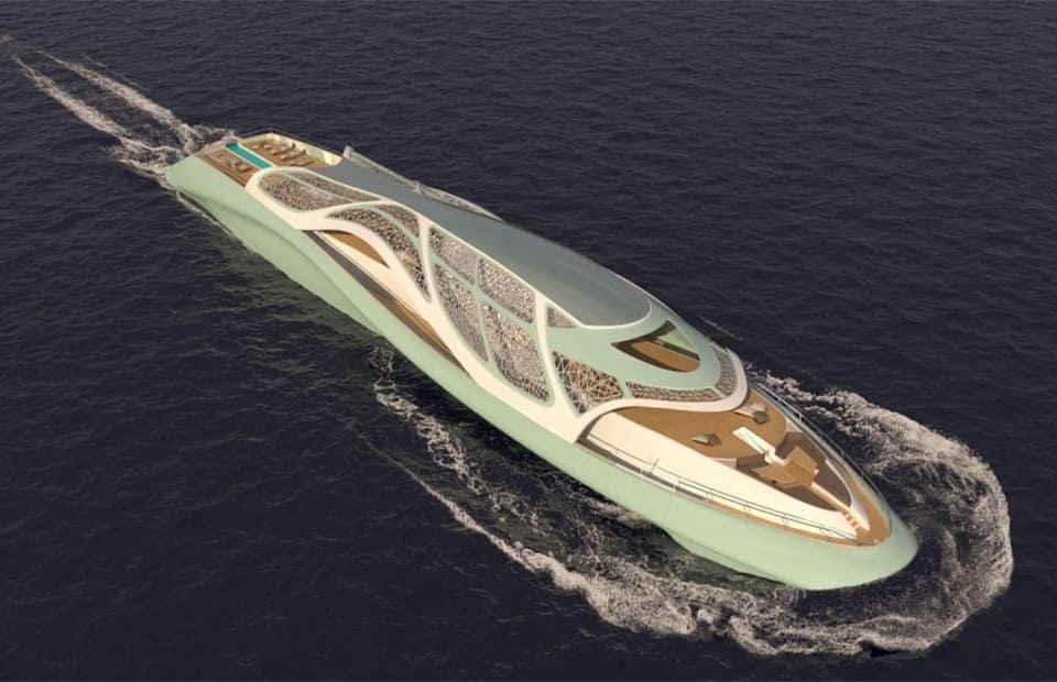 яхта-подлодка «Панцирь»